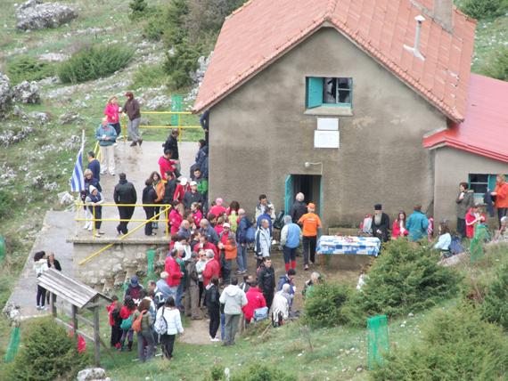 Γιάννενα: Οι Ορειβάτες κόβουν πίτα στο Μιτσικέλι