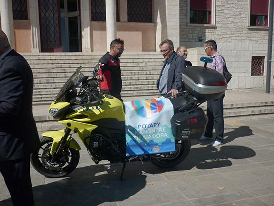 Γιάννενα: Μία ακόμα μοτοσικλέτα στη διάθεση του ΕΚΑΒ