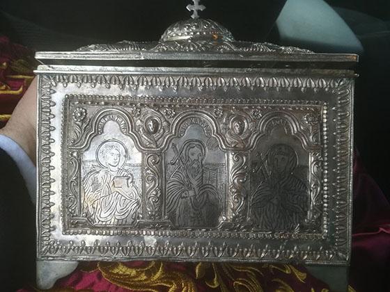 Γιάννενα: Επέστρεψε η κλεμμένη λειψανοθήκη
