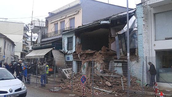 Γιάννενα: Κατέρρευσε ένα ακόμα παλαιό κτίσμα