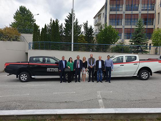 Ήπειρος: Δωρεά οχημάτων από τον TAP στην Αποκεντρωμένη