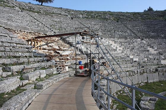 Γιάννενα: Σε ολική επαναφορά το αρχαίο θέατρο της Δωδώνης