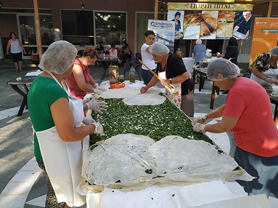 Γιάννενα: Η μεγαλύτερη λαχανόπιτα έγινε στη Ζωοδόχο