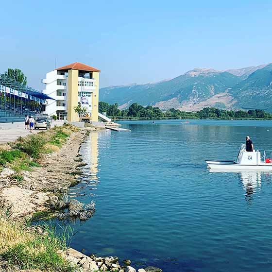Γιάννενα; Εκκίνηση στη λίμνη για την ευρωπαϊκή κωπηλασία
