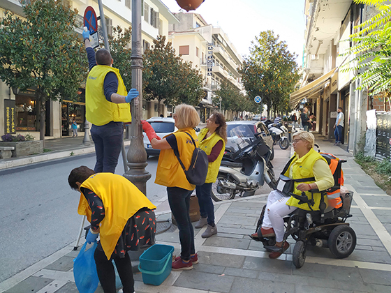 Γιάννενα: Μπήκαν μπροστά για μία πιο καθαρή πόλη